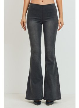 Tricot by C'est Tol Mid-Rise Wider Flare Jeans