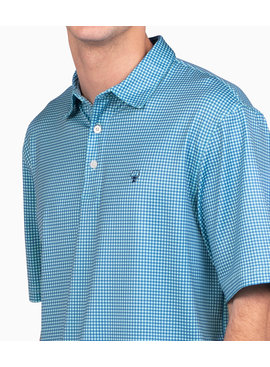 Southern Shirt Sandhill Gingham Polo