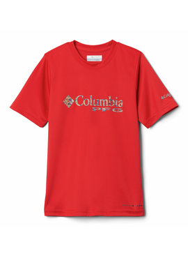 Columbia Sportwear Boys' Toddler PFG™ Printed Logo Graphic T-Shirt