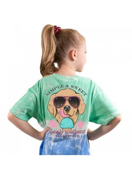 Simply Southern Collection Youth Simple Short Sleeve T-Shirt - Island