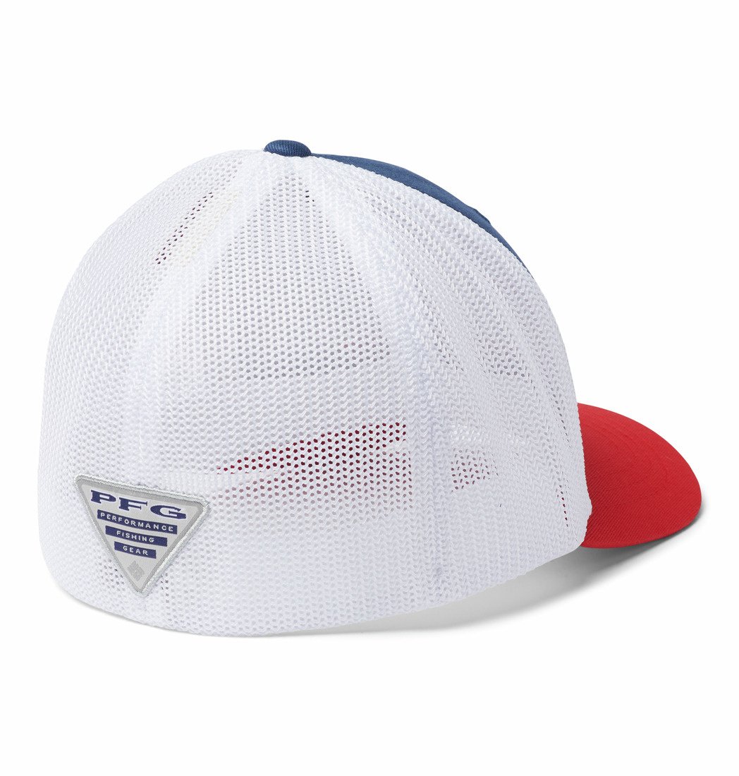 Columbia Sportwear Junior Mesh Ballcap-Black, PFG Hook O/S