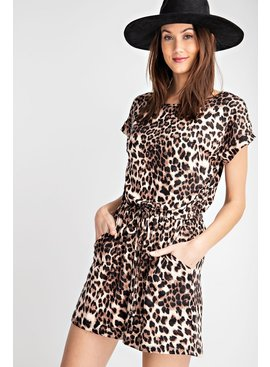Rae Mode Animal Printed Romper