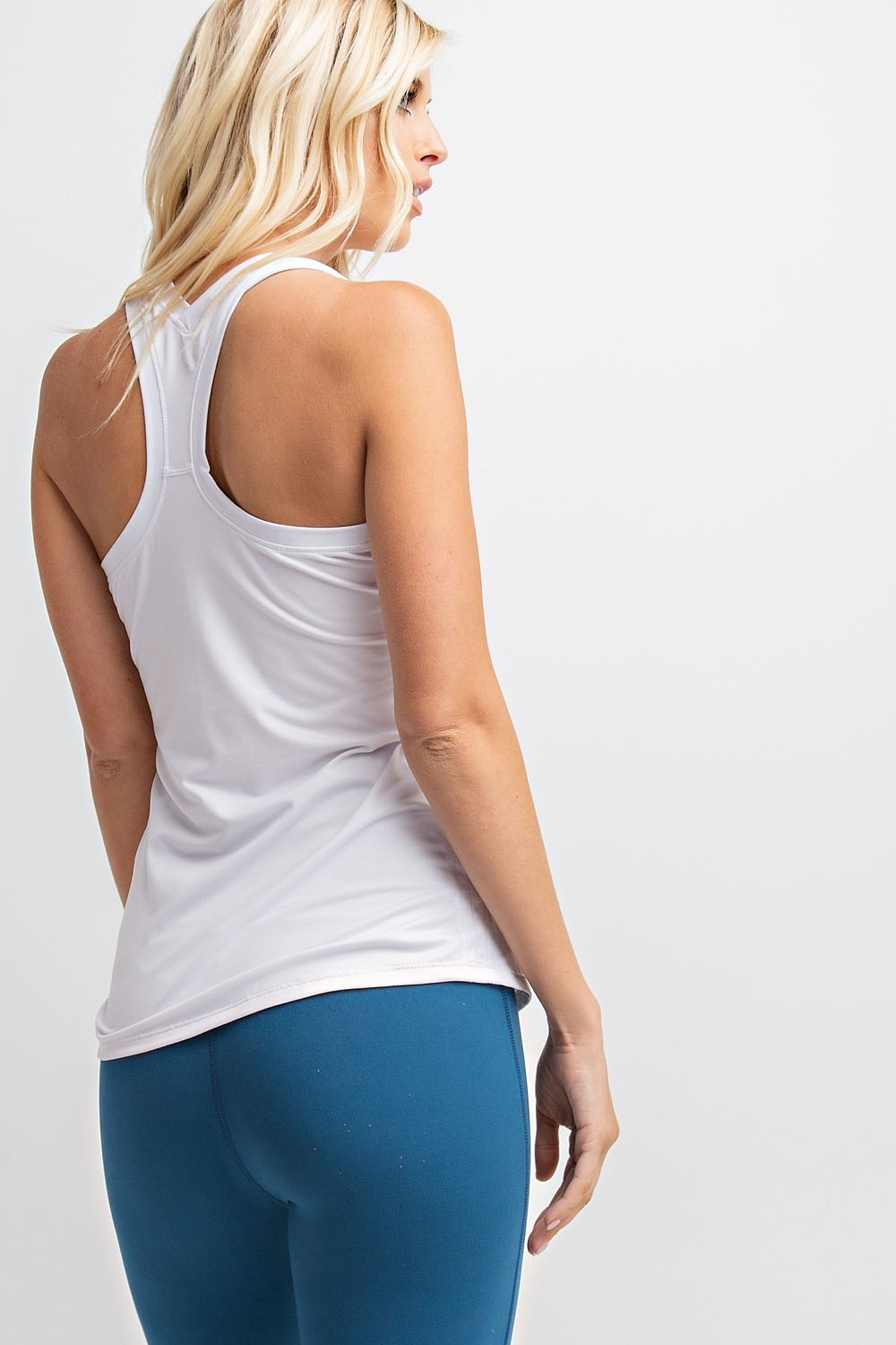 Rae Mode Racerback Butter Fabric Basic Tank