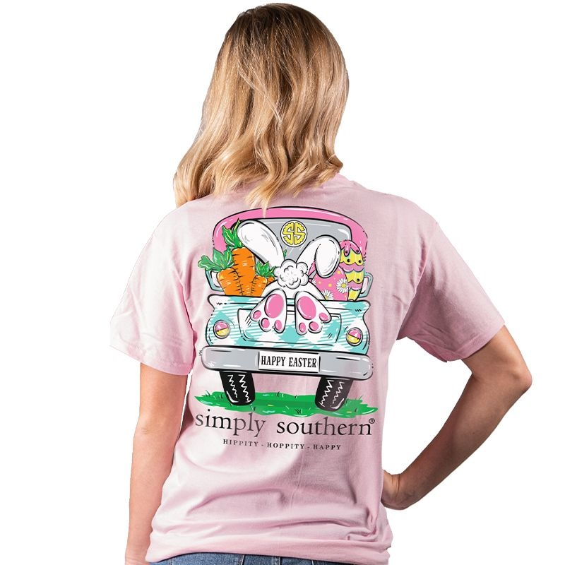 Simply Southern Collection Easter Bunny Short Sleeve T-Shirt - Lulu