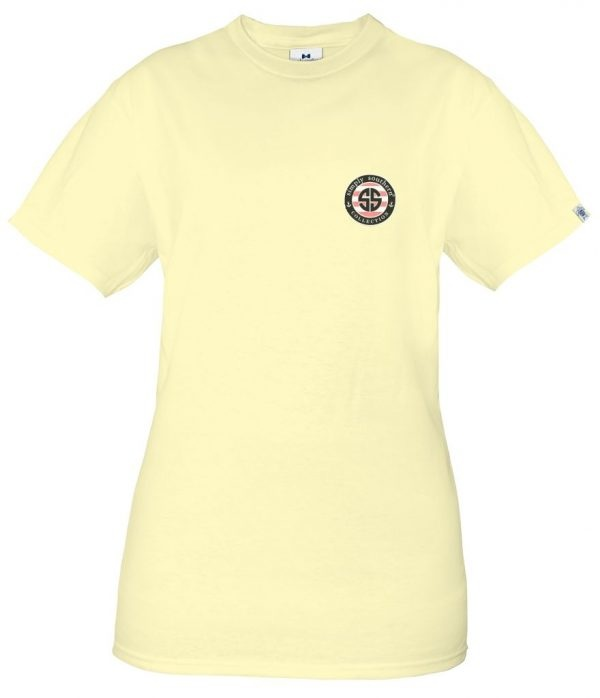 Simply Southern Collection Youth Peachy Short Sleeve T-Shirt Butter