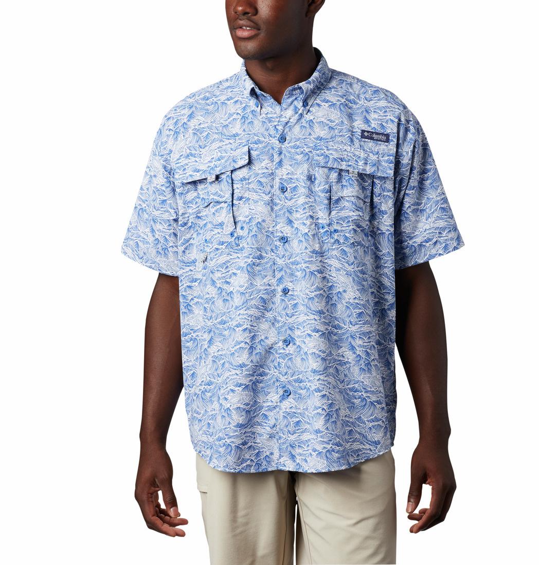 Columbia Sportwear PFG Super Bahama™ Short Sleeve Shirt - Tall