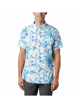Columbia Sportswear Men's Rapid Rivers™ Printed Short Sleeve Shirt – Tall