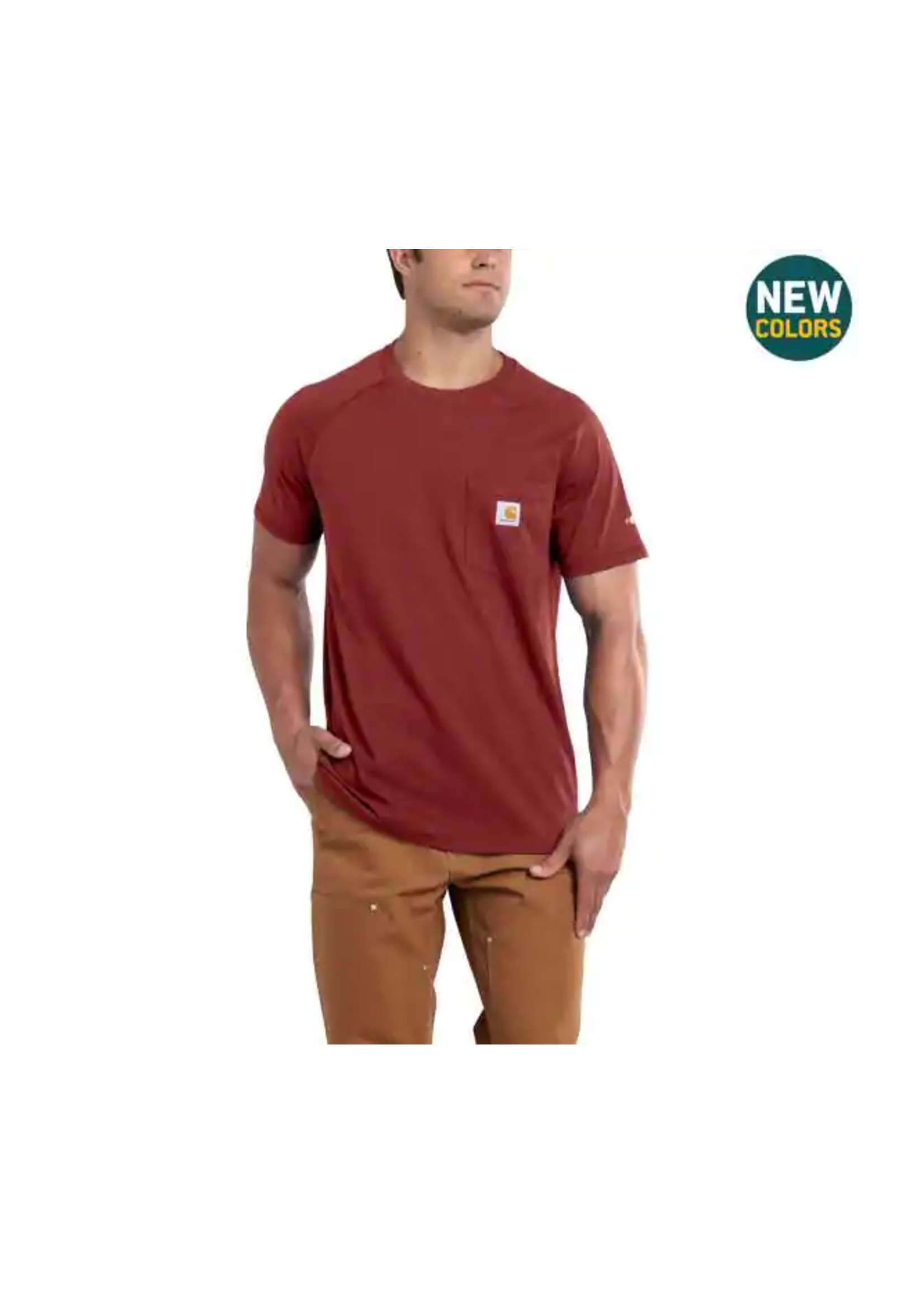 Carhartt Force® Cotton Delmont Short-Sleeve T-Shirt -Tall