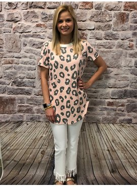 Honeyme Animal Print Top