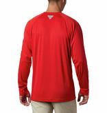 Columbia Sportswear Men's Collegiate PFG Terminal Tackle™ Long Sleeve Shirt - Georgia