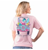Simply Southern Collection Youth Live What You Love Short Sleeve T-Shirt - Lulu
