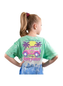 Simply Southern Collection Youth Sunshine State Of Mind Short Sleeve T-Shirt - Island