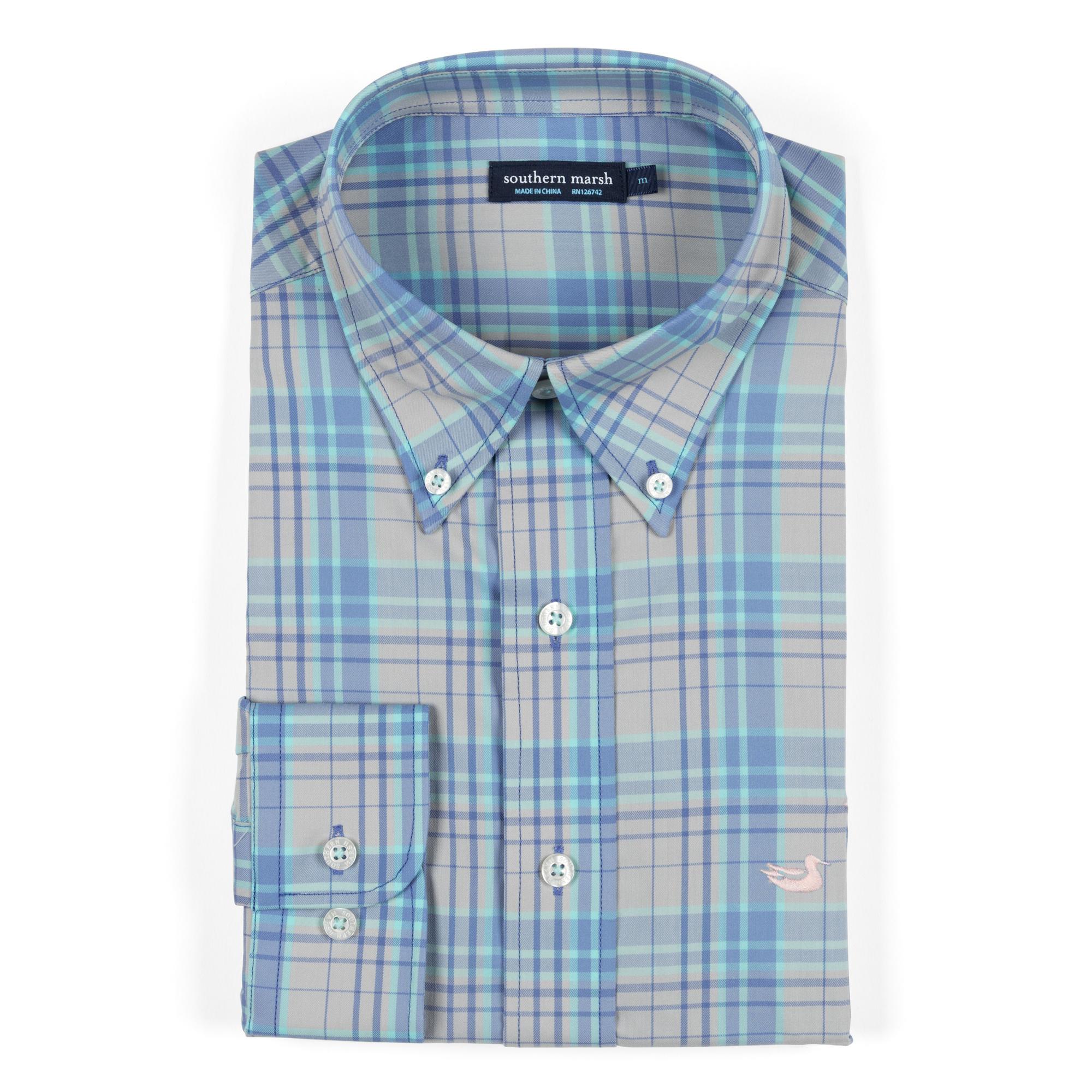 Southern Marsh Louisville Performance Dress Shirt