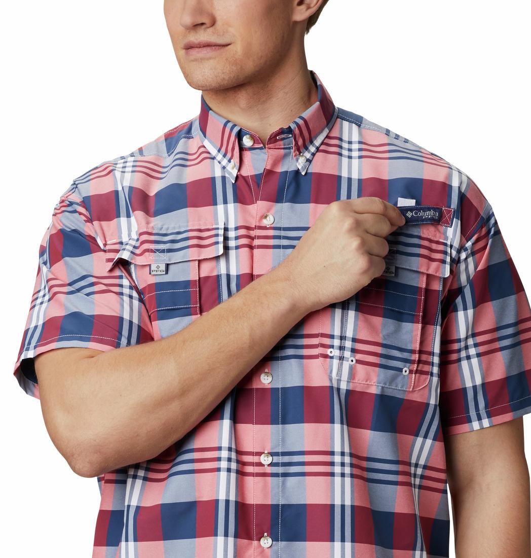 Columbia Sportswear PFG Super Bahama™ Short Sleeve Shirt - Tall