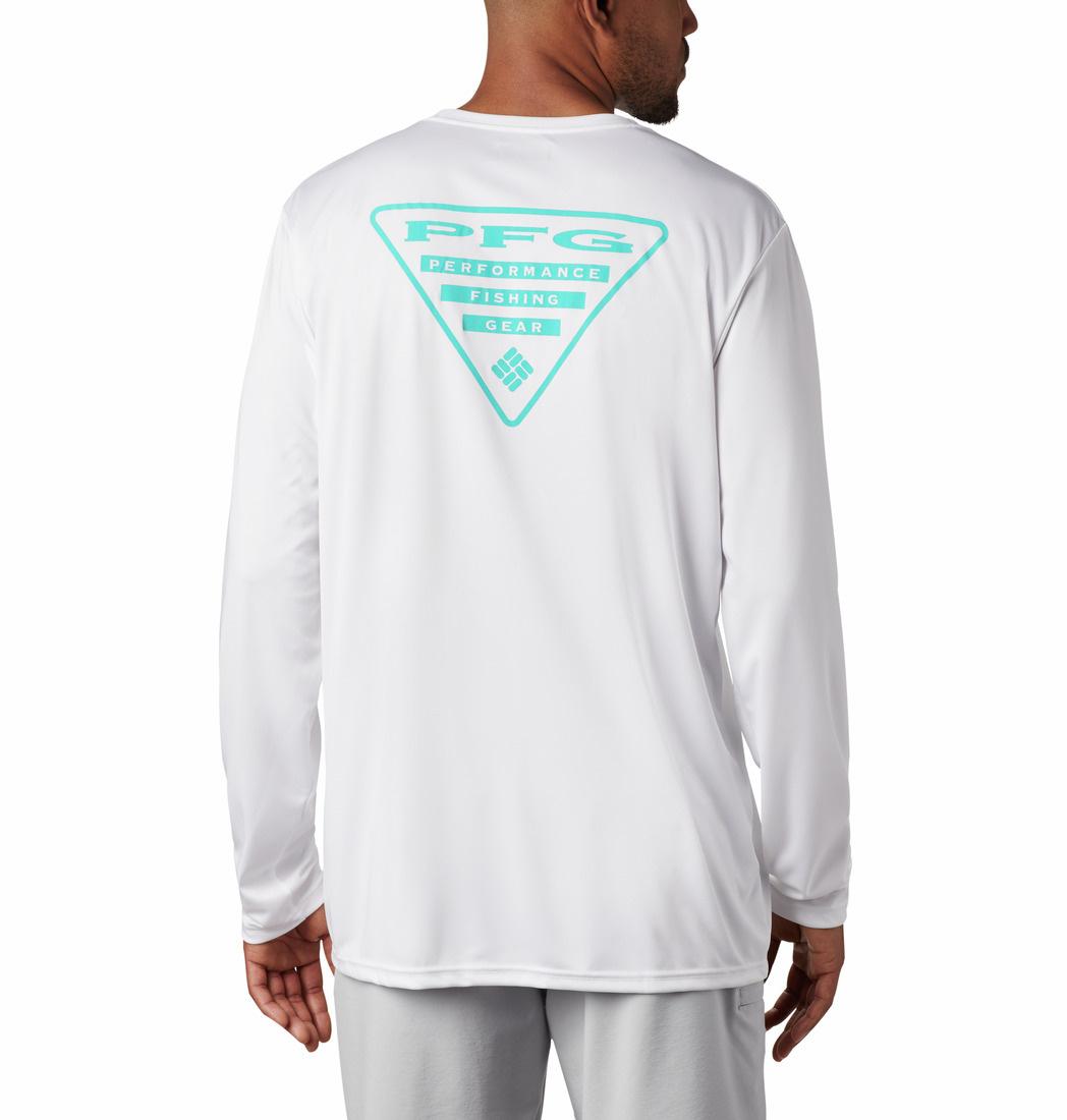 Columbia Sportswear Terminal Tackle PFG Triangle™ Long Sleeve Shirt
