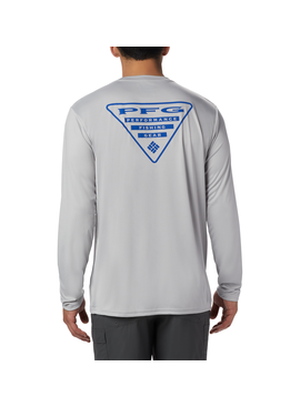 Columbia Sportwear Terminal Tackle PFG Triangle™ Long Sleeve Shirt -Tall