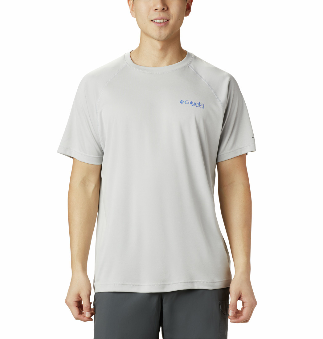 Columbia Sportswear Men's PFG Terminal Tackle™ Heather Short Sleeve Shirt