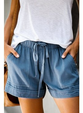 Casual Shorts With Pockets
