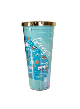 Simply Southern Collection STATE OF GEORGIA 24OZ. TUMBLER