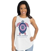 Simply Southern Collection Simply Southern Tank Preppy USA