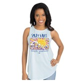 Simply Southern Collection Simply Southern Tank Salty Vibes