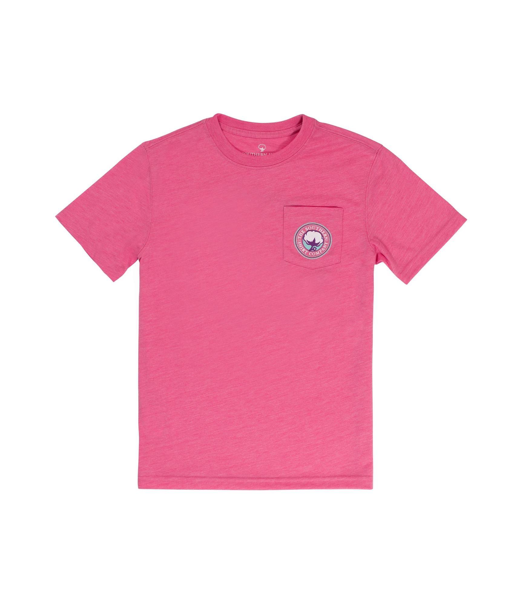 Southern Shirt Girl's Foil Gem Logo SS