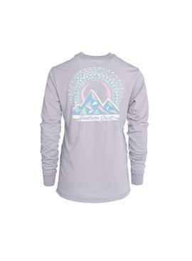 Southern Shirt Girl's Mosaic Mountains Tee LS