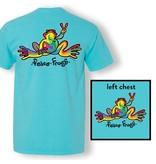 Peace Frogs, Inc Retro Frog Short Sleeve T-Shirt