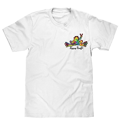 Peace Frogs, Inc Retro Frog Short Sleeve T-Shirt