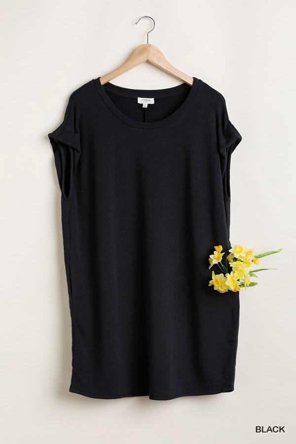 Umgee Round Neck Dress