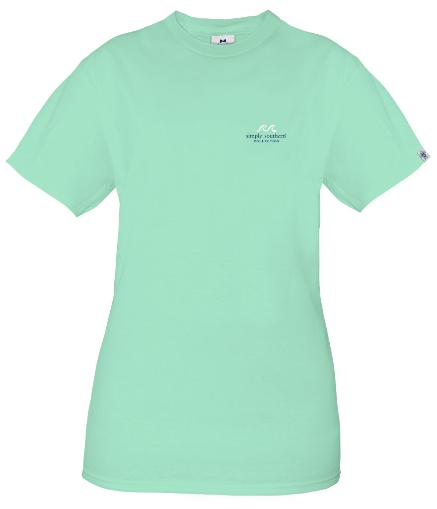 Simply Southern Collection Feeling Good Like It Should Short Sleeve T-Shirt