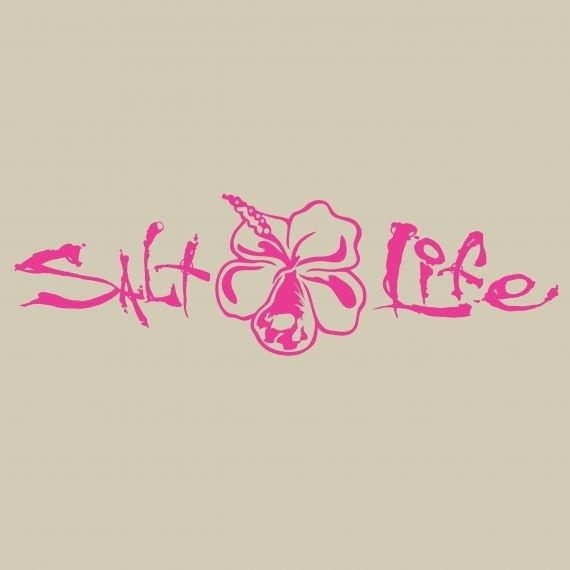 Salt Life Salt Life Signature Hibiscus Decal