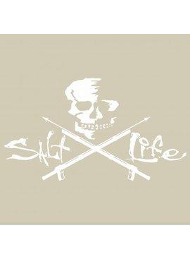 Salt Life Salt Life Skull and Spearguns Medium Decal