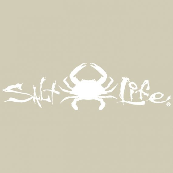 Salt Life Salt Life Signature Crab Medium Decal