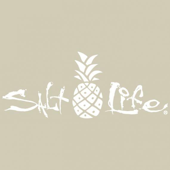 Salt Life Signature Pineapple Medium Decal