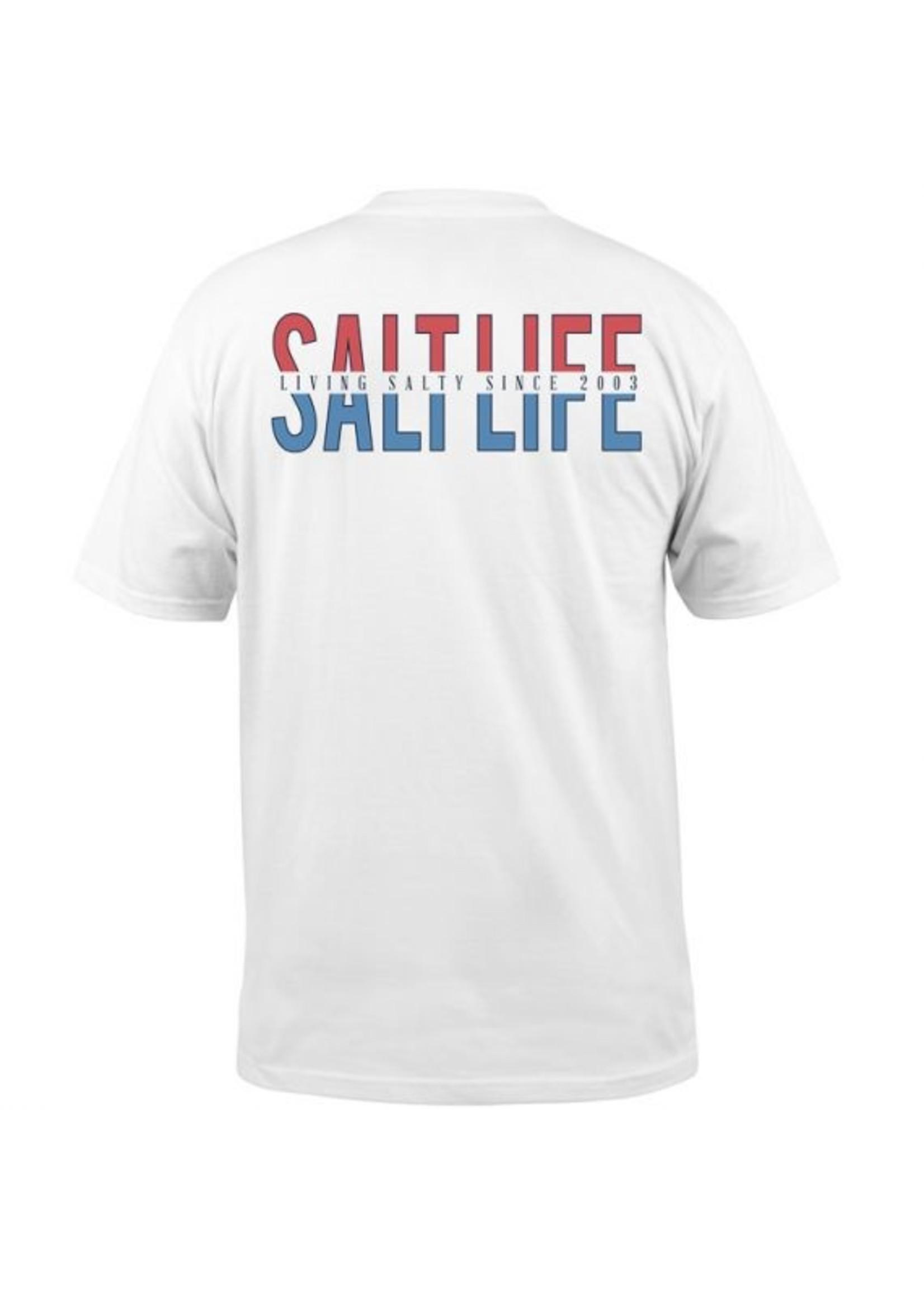 Salt Life Keep It Real Pocket Tee