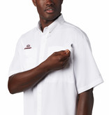 Columbia Sportswear Men's Collegiate PFG Tamiami™ Short Sleeve Shirt