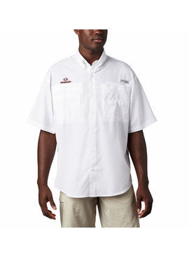 Columbia Sportswear Men's Collegiate PFG Tamiami™ Short Sleeve Shirt