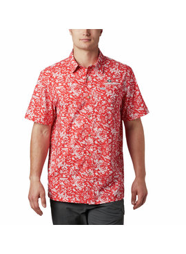 Columbia Sportswear Men's Collegiate PFG Super Slack Tide™ Shirt - Georgia
