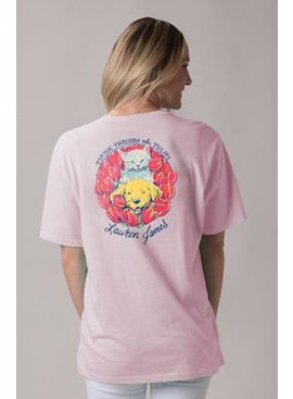 Lauren James Tip Toe Through The Tulips T-shirt