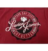 Lauren James Your Day Just Got Better T-shirt