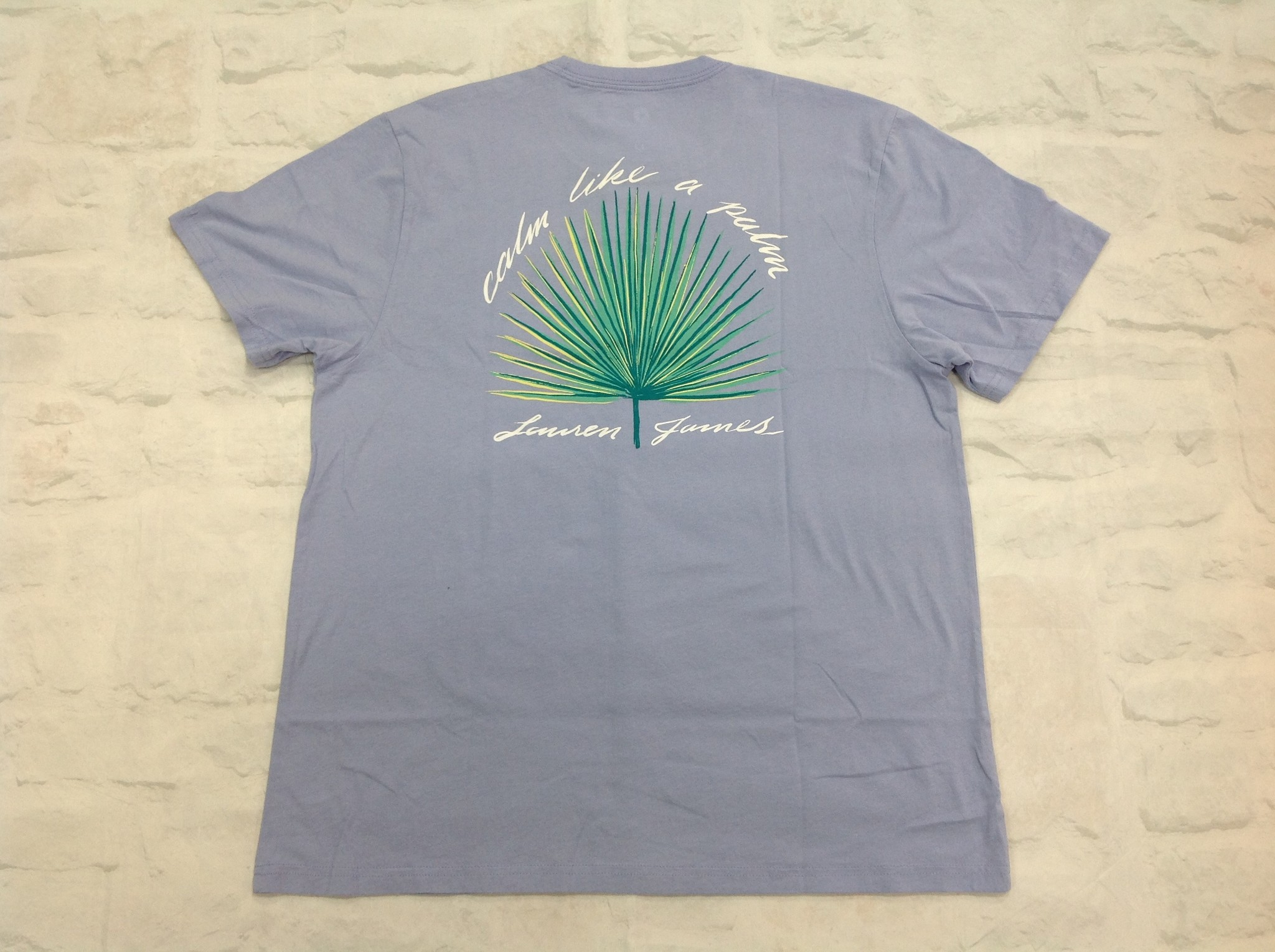 Lauren James Calm Like A Palm T-shirt