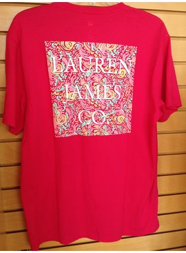 Lauren James LJ Pattern T-shirt