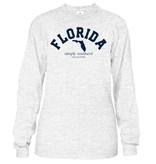 Simply Southern Collection Fl State Long Sleeve T-Shirt - Ash