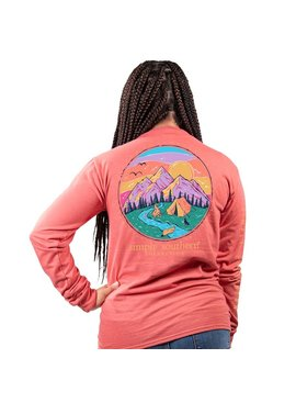 Simply Southern Collection Camp Long Sleeve T-Shirt - Spice
