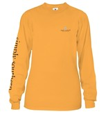 Simply Southern Collection Be Kind To Nurses Long Sleeve T-Shirt - Mustard