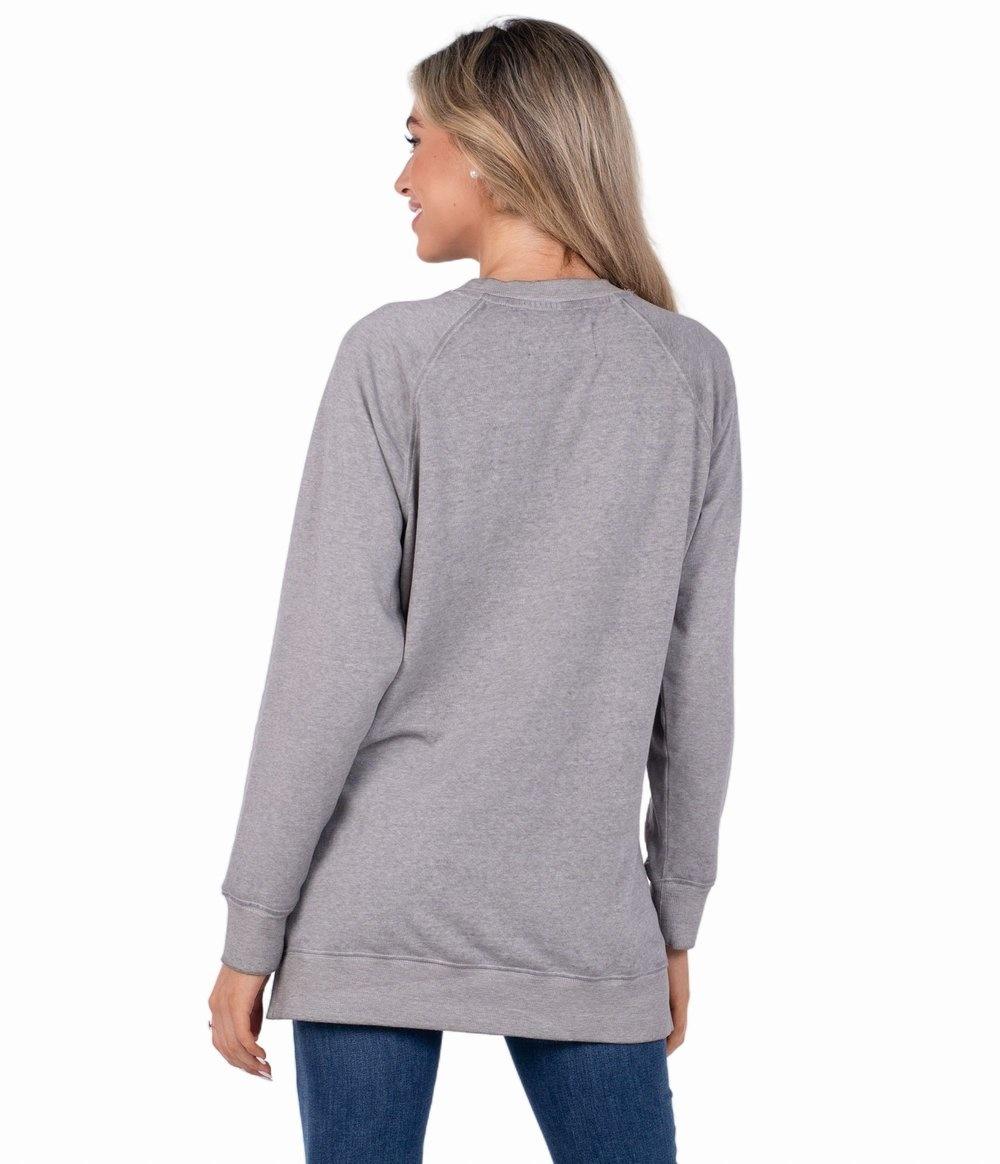 Southern Shirt Velvety Sweatshirt - Burnout