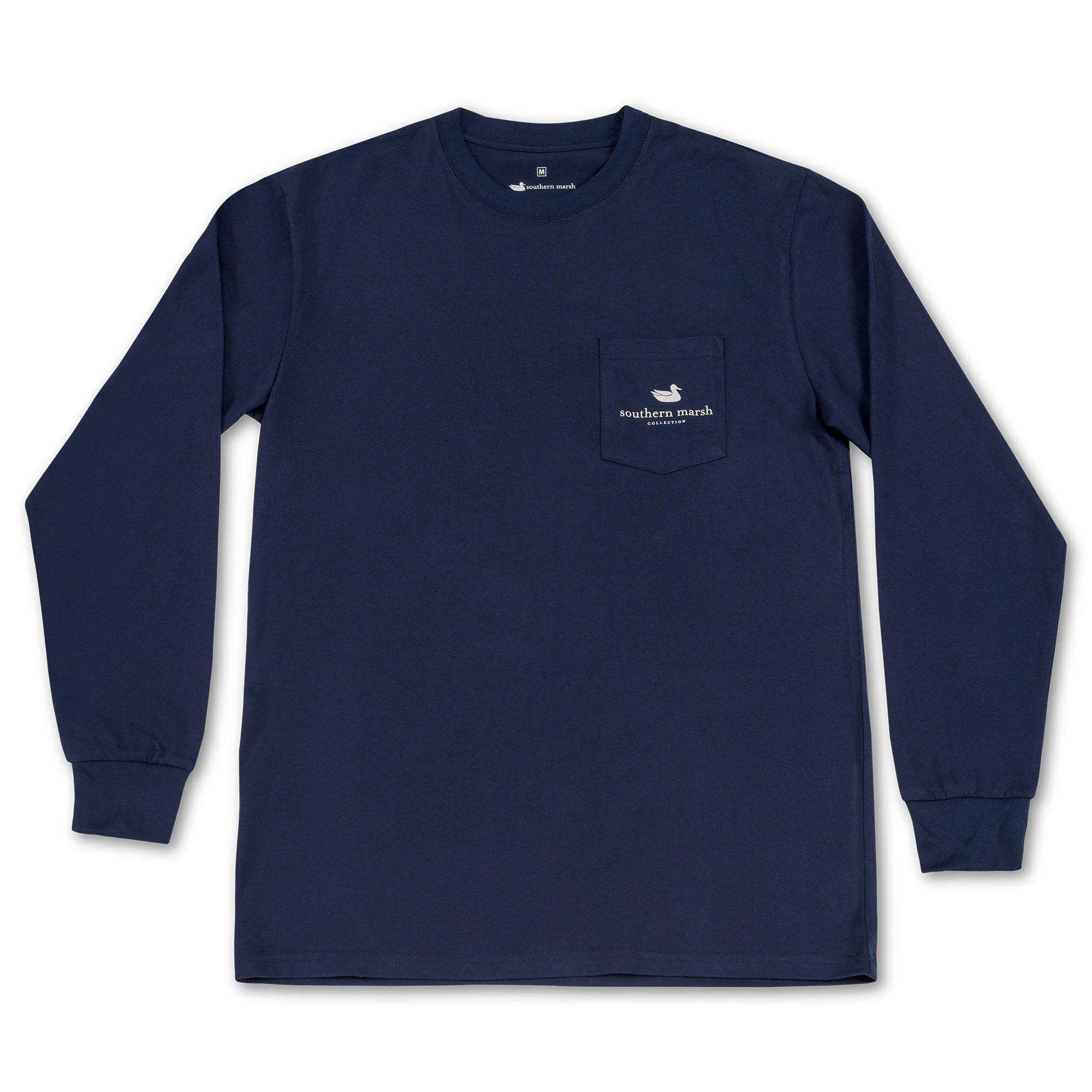 Southern Marsh Branding Collection Tee - Crest - Long Sleeve