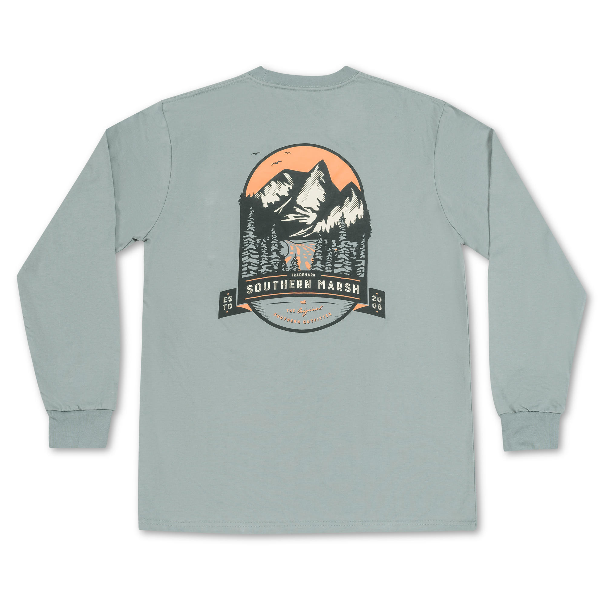 Southern Marsh Mountain Pass Tee - Long Sleeve