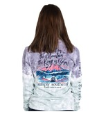 Simply Southern Collection Go Tell It on the Mountain Long Sleeve T-Shirt - Bohemian